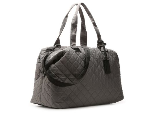 945f7d22639 Women s Women Steve Madden Quilted Weekender Bag -Grey - Grey ...