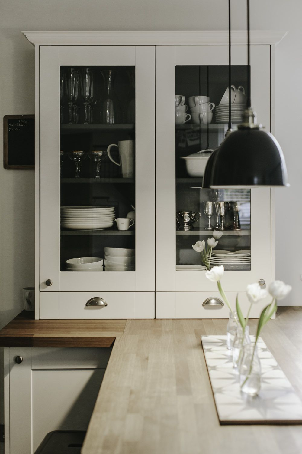 How To Paint Kitchen Cupboards Kitchen Cupboards Glass Front