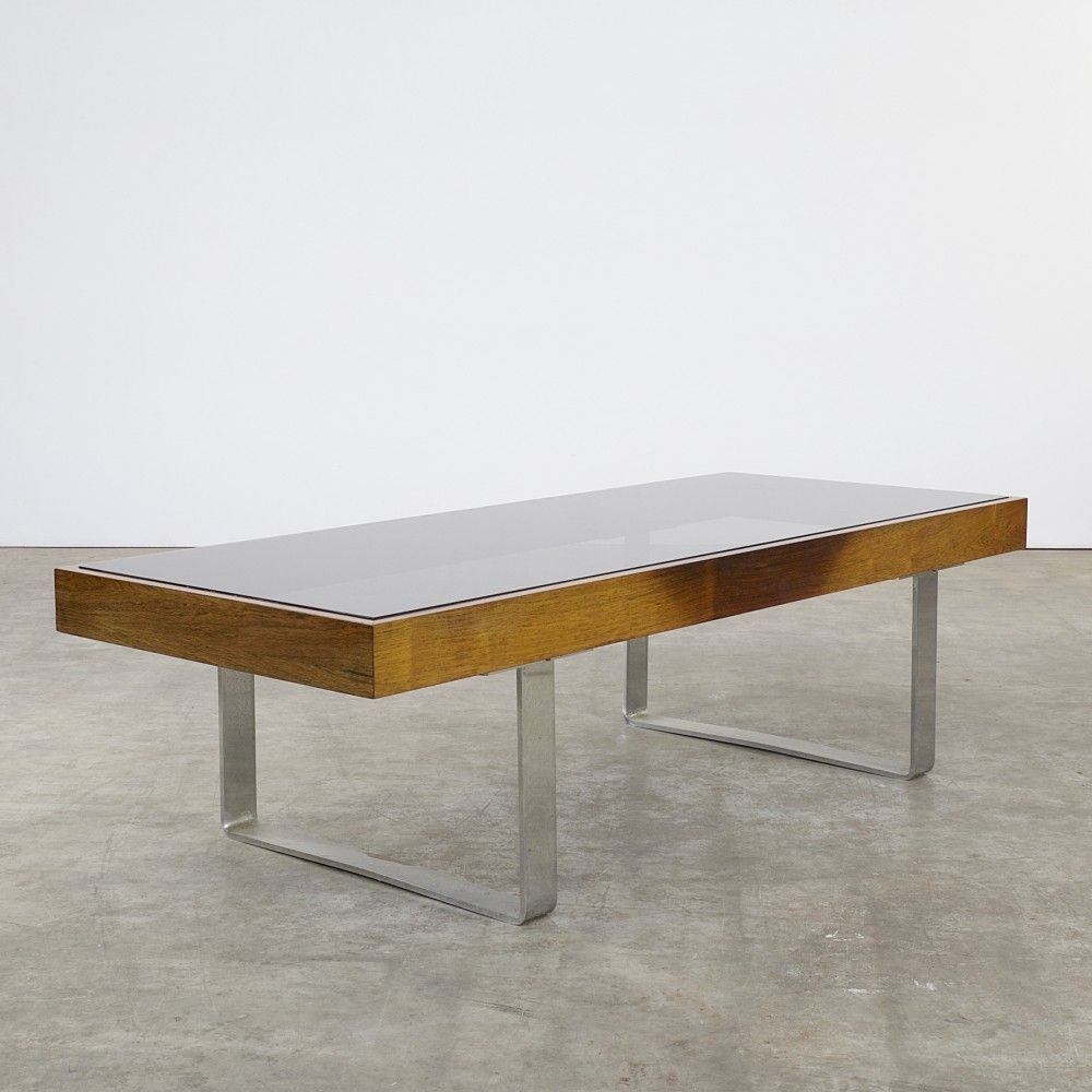 Designer Outdoor Möbel coffee table from the sixties by unknown designer for ilse möbel