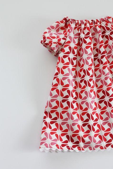 Sew Much Ado: Little Peasant Dress pattern (free)   JUSTINE ...
