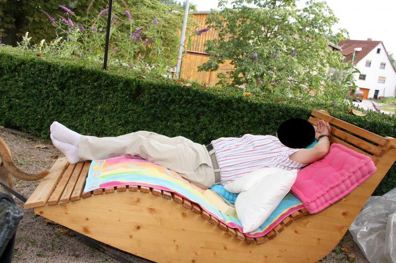 Relax Liege Xxl Fur 2 Personen Bauanleitung Zum Selberbauen 1 2 Do Com Deine Heimwerker Community Gartenliege Selber Bauen Selber Bauen Im Freien