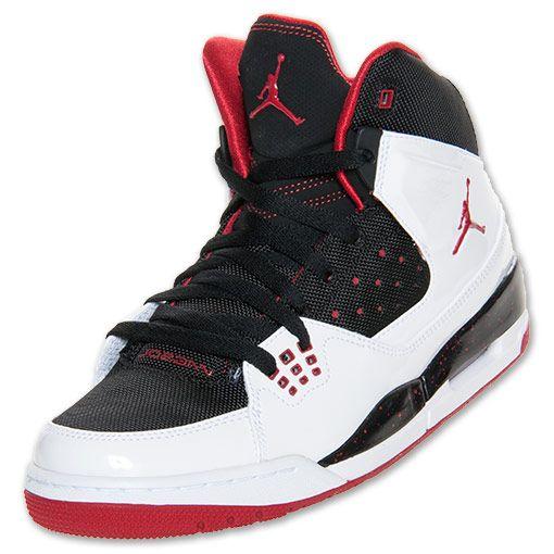 Nike Men S Jordan Sc 1 Basketball Shoes White Gym Red Black