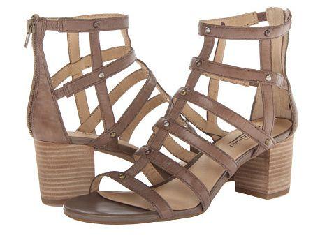 Trend Alert: Low Block-Heel Sandals | Block heels, Sandals and ...