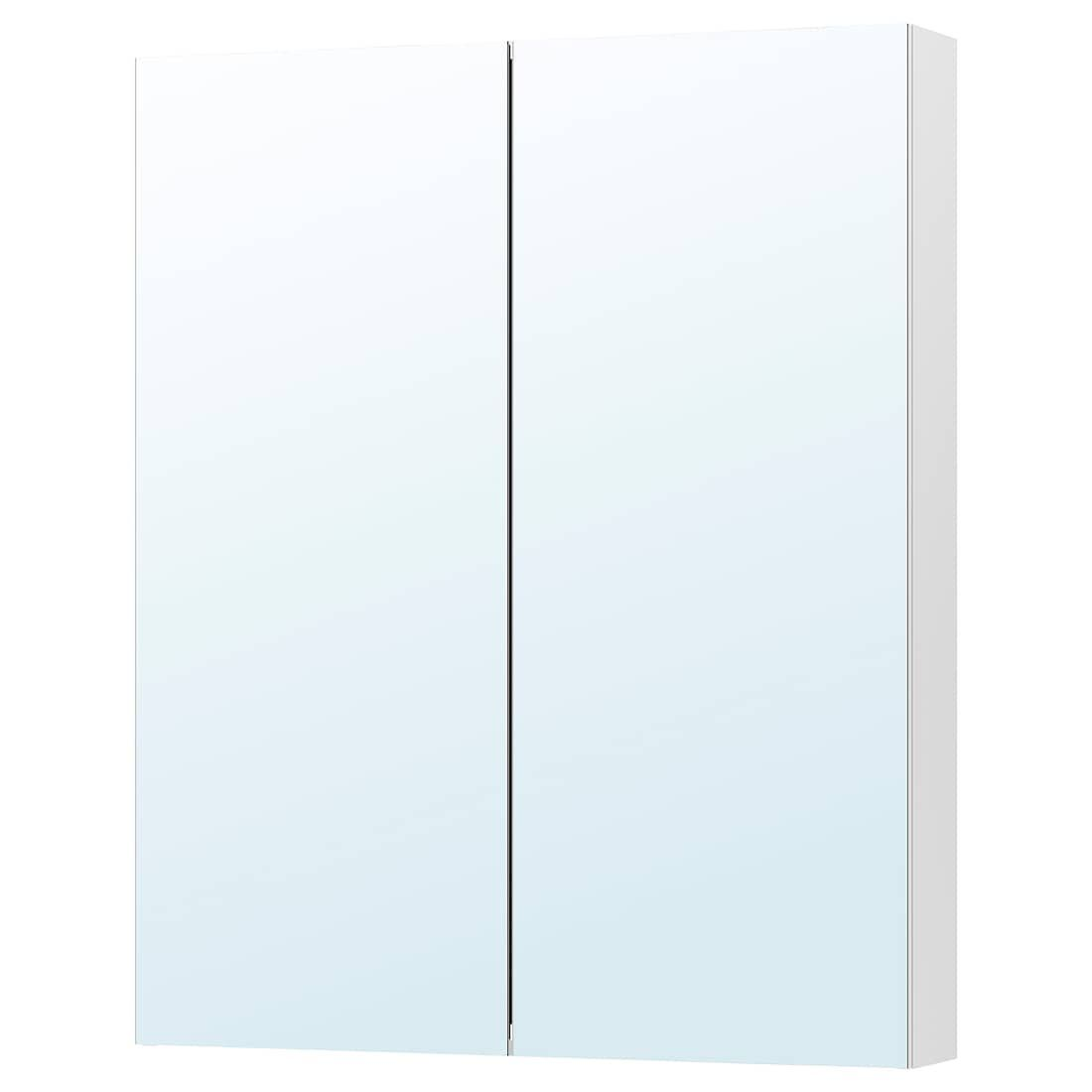 Godmorgon Spegelskap Med 2 Dorrar 100x14x96 Cm Ikea In 2020 Mirror Cabinets Glass Shelves In Bathroom Ikea Godmorgon