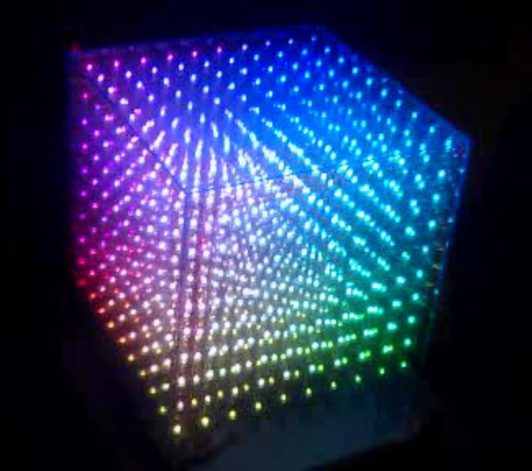 10x10x10 Rgb Led Cube Written In Assembly Code Part 1 Gales This Is For A Simple Controller