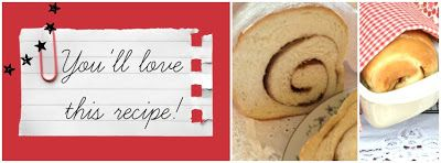 Farm Girl Inspirations: Try this! Best cinnamon-swirl bread you'll ever make.