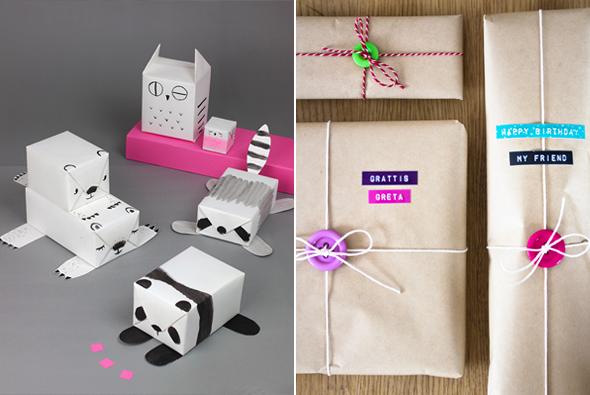 De belles idées pour des paquets cadeaux presque parfaits
