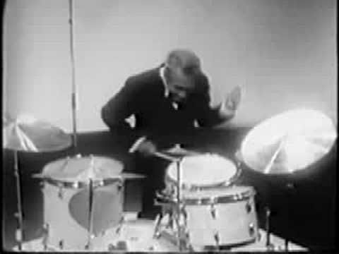 """Gene Krupa: Another great sidemen to Goodman´s band, and one of the most celebrated drummer of his time. """"Big Noise From Winnetka"""""""
