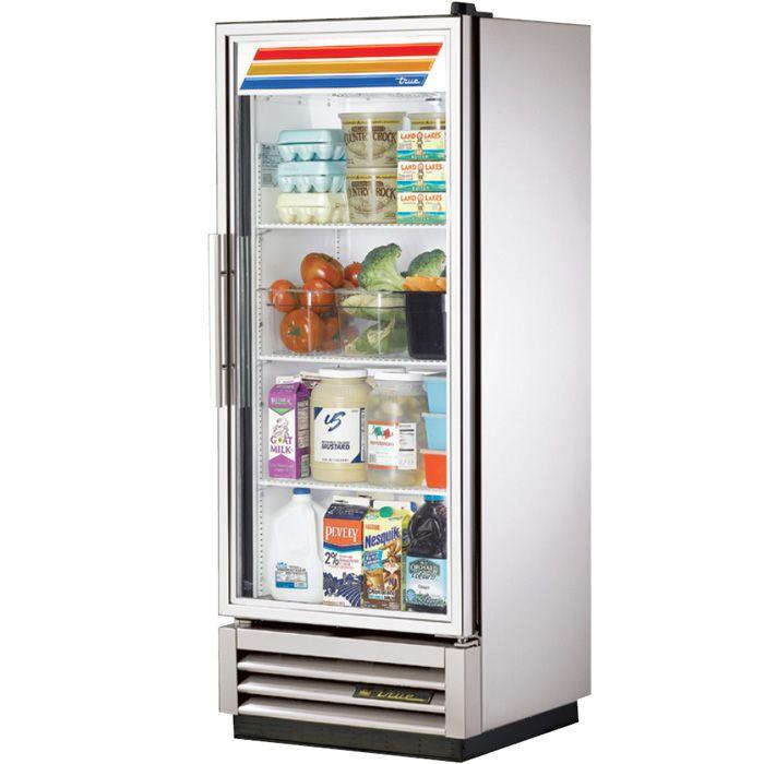 True T12G 12 Cu. Ft. 1 Glass Door Refrigerator Glass