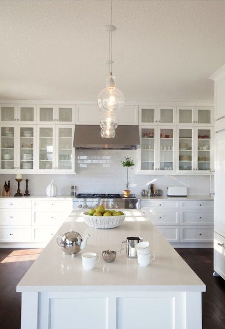 Pin by Hannah Coop on Kitchen   Pinterest   Kitchens, Glass doors ...