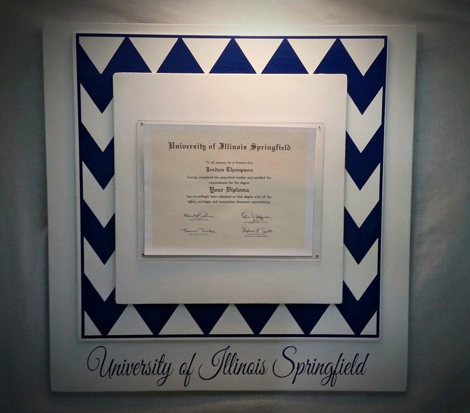Diy diploma frames google search home decorating ideas pinterest diys for Diy certificates