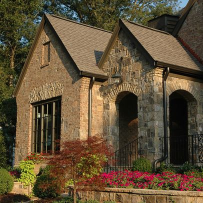 Atlanta Traditional Exterior stone and brick exterior Design Ideas, Pictures, Remodel and Decor