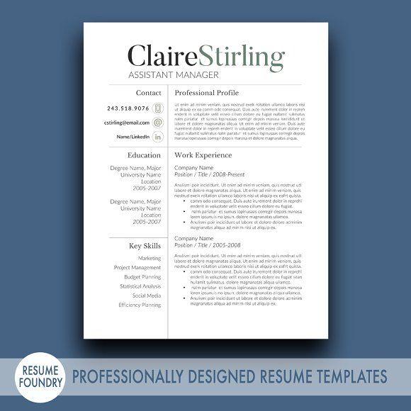 Pin By Judy Krivec On Work Pinterest Modern Resume Template