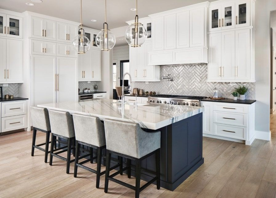 70 Transitional Kitchen Ideas Photos White Kitchen Design Kitchen Design Home Decor Kitchen