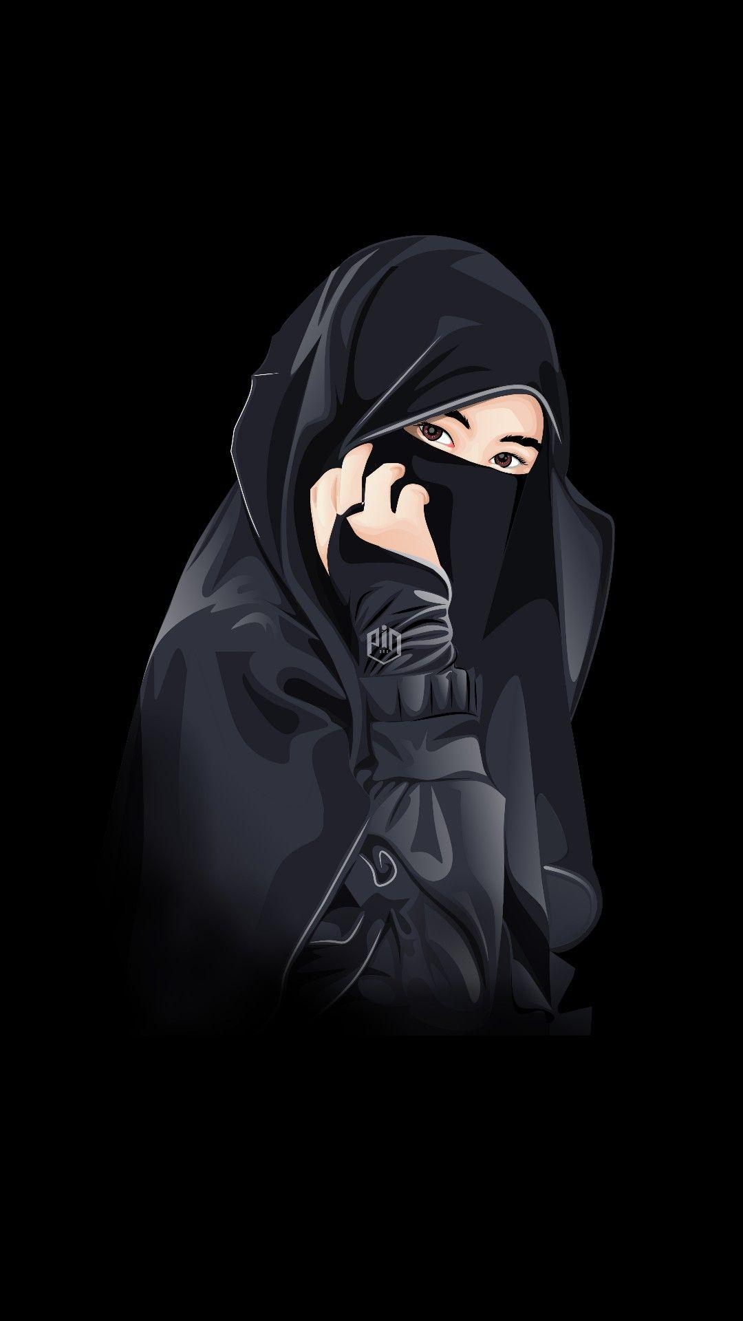 Pin Oleh Budak Jomblo Di Muslim Ilustrasi Orang Gadis Animasi Gambar