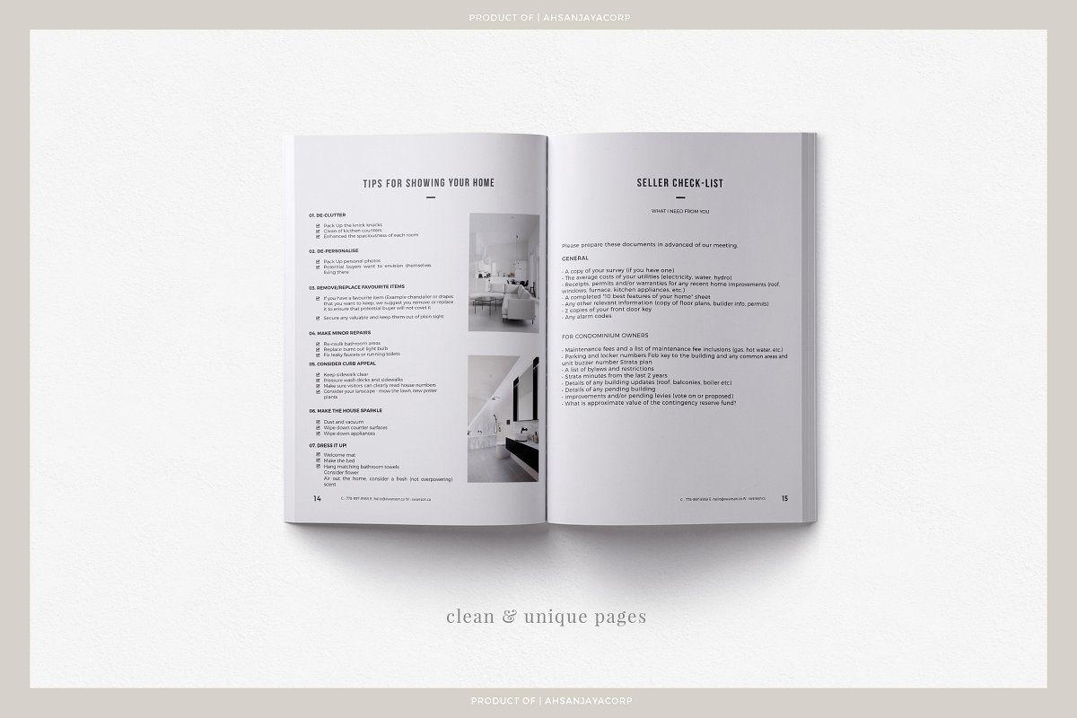 Swanson Seller S Guide Psd In 2020 Portfolio Template Design Layout Template Portfolio Templates