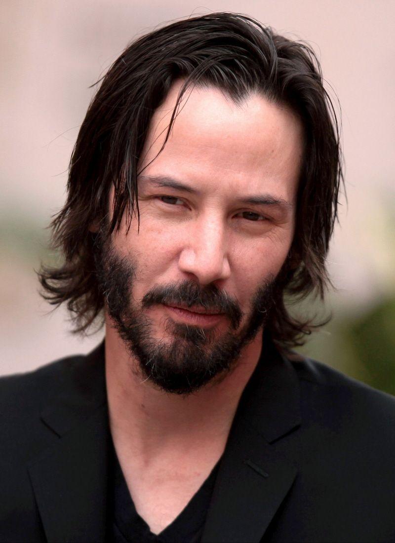 Keanu Reeves Widows Peak Hairstyles Long Hair Styles Men Long Hair Styles