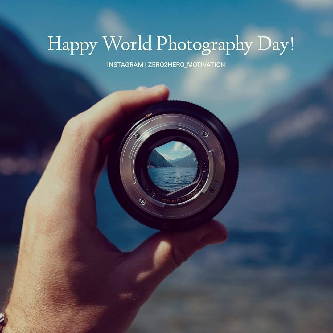 Happy World Photography Day Background Belongs To Respective Owner World Photography Day Photography Aesthetic Images