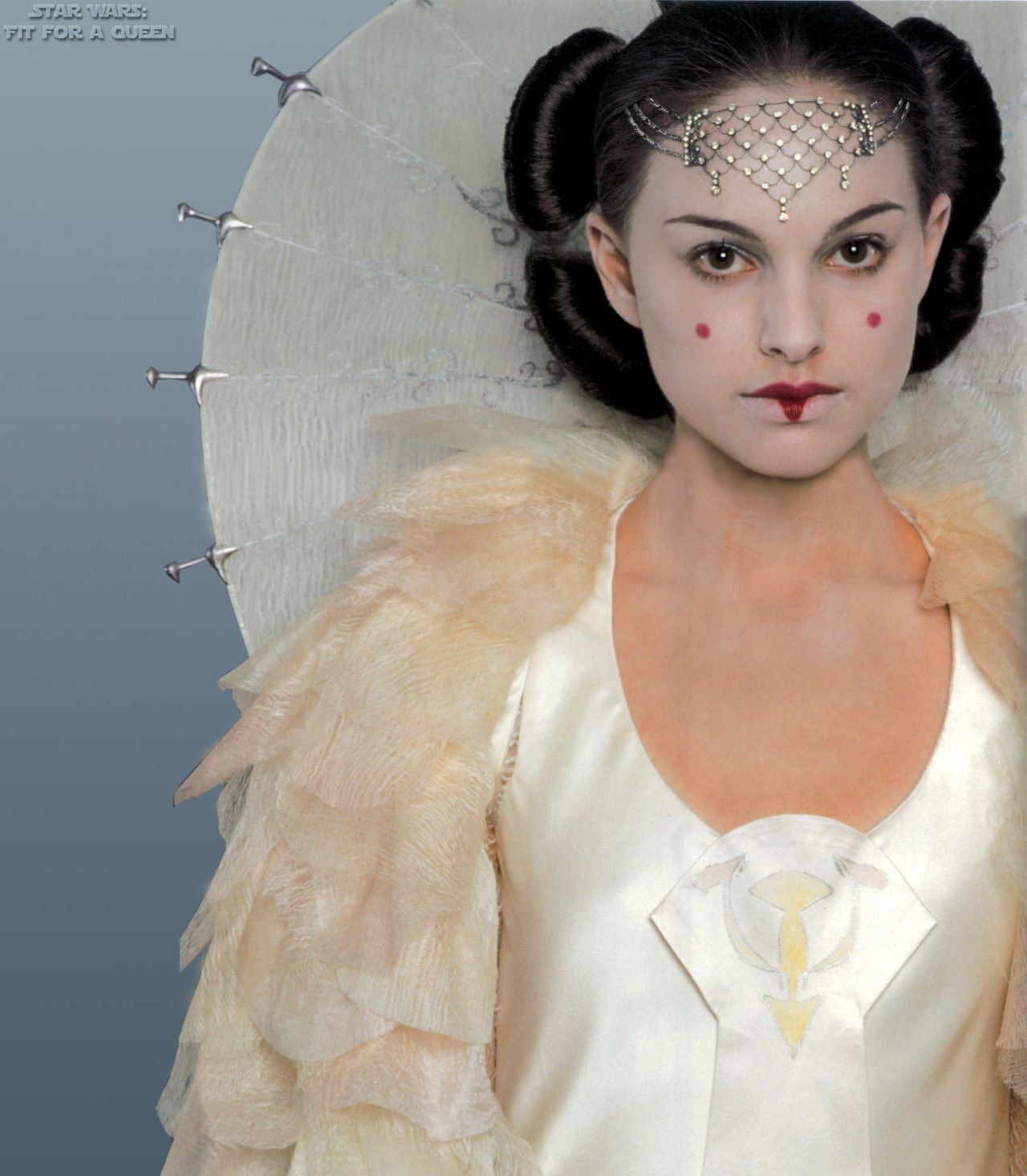 Star wars, Queen Amidala\'s Parade Gown, details   Costume_Films ...