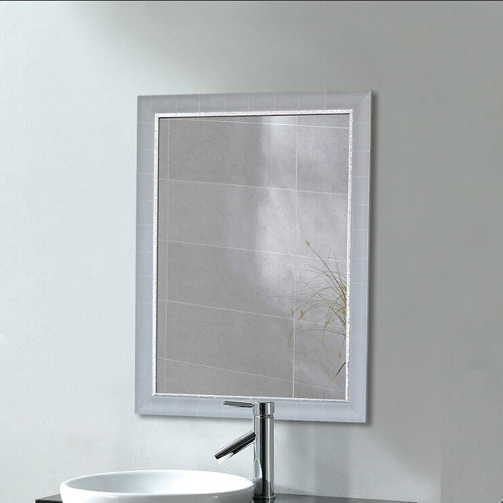 Bathroom Mirror Waterproof Wall Hanging Vanity Mirror Porch Bedroom Dining Room Mirror Wx8221549 In 2020 Mirror Dining Room White Bathroom Mirror Bathroom Mirror