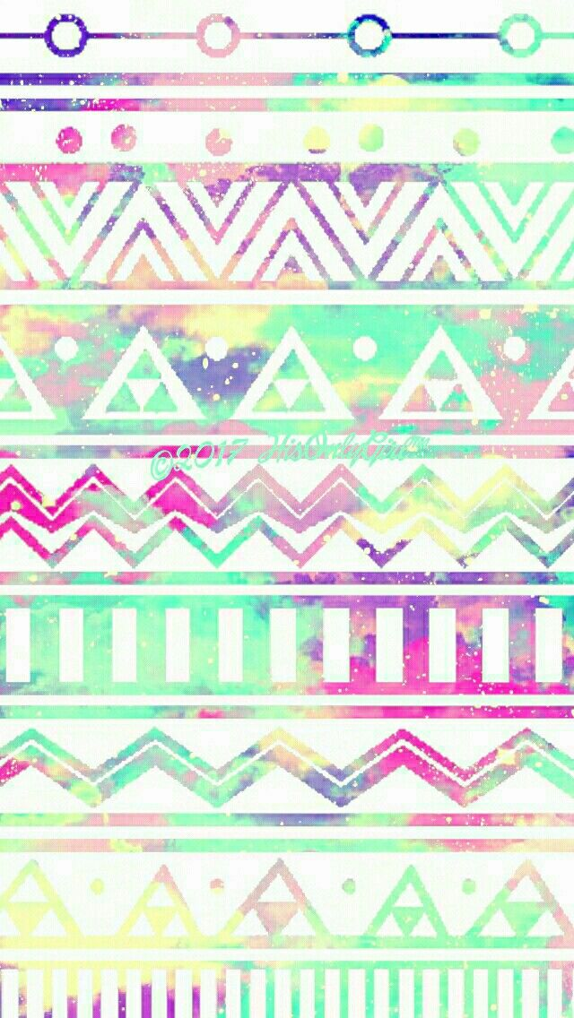 Soft Tribal Galaxy Wallpaper I Created For The App CocoPPa