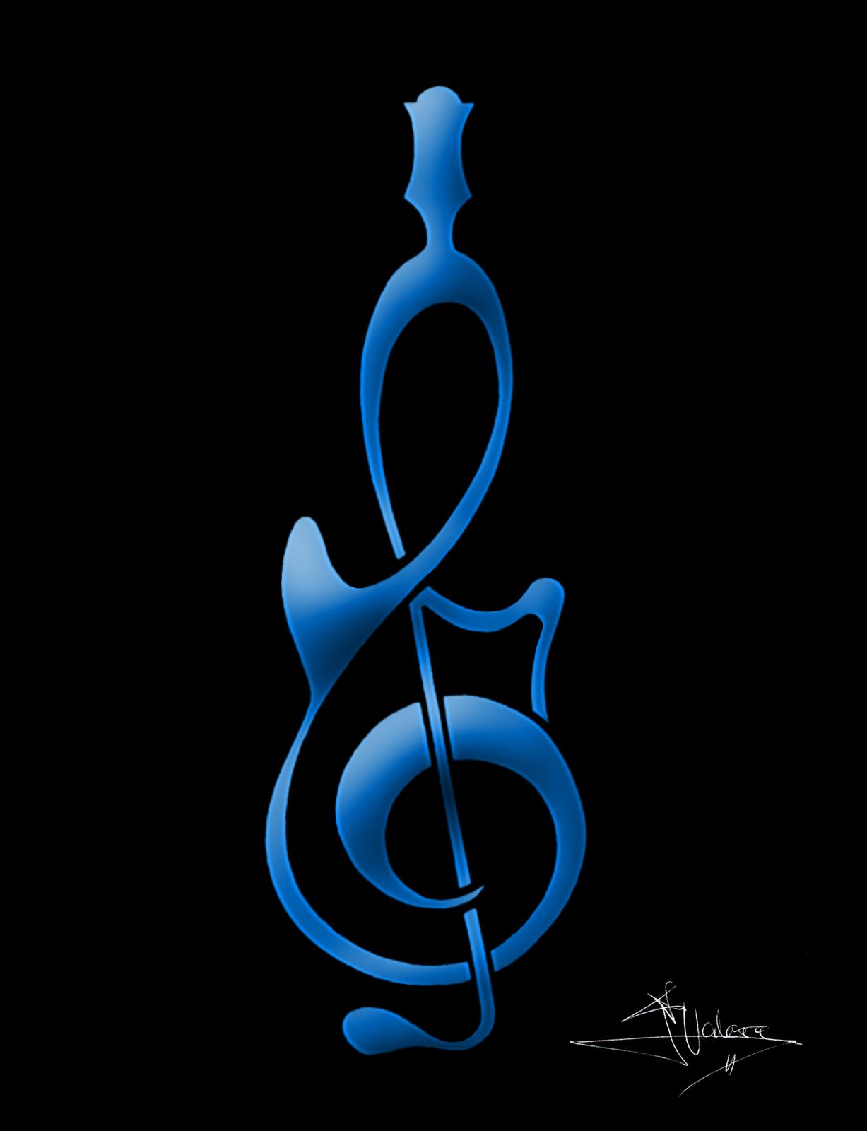 Resultado De Imagen Para Guitarra Y Clave De Sol Misc Pinterest