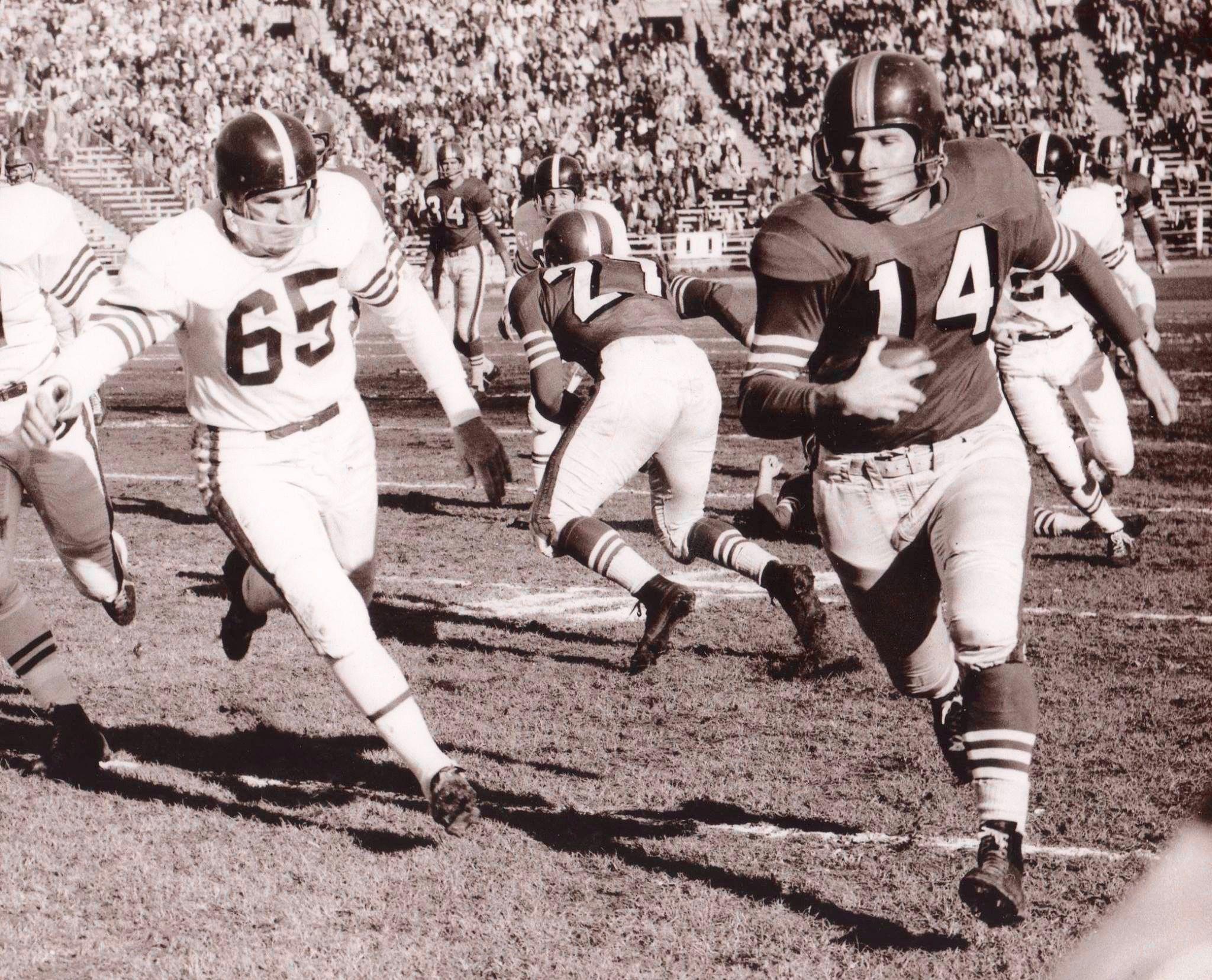 San Francisco (14 Y.A. Tittle) vs Baltimore Colts