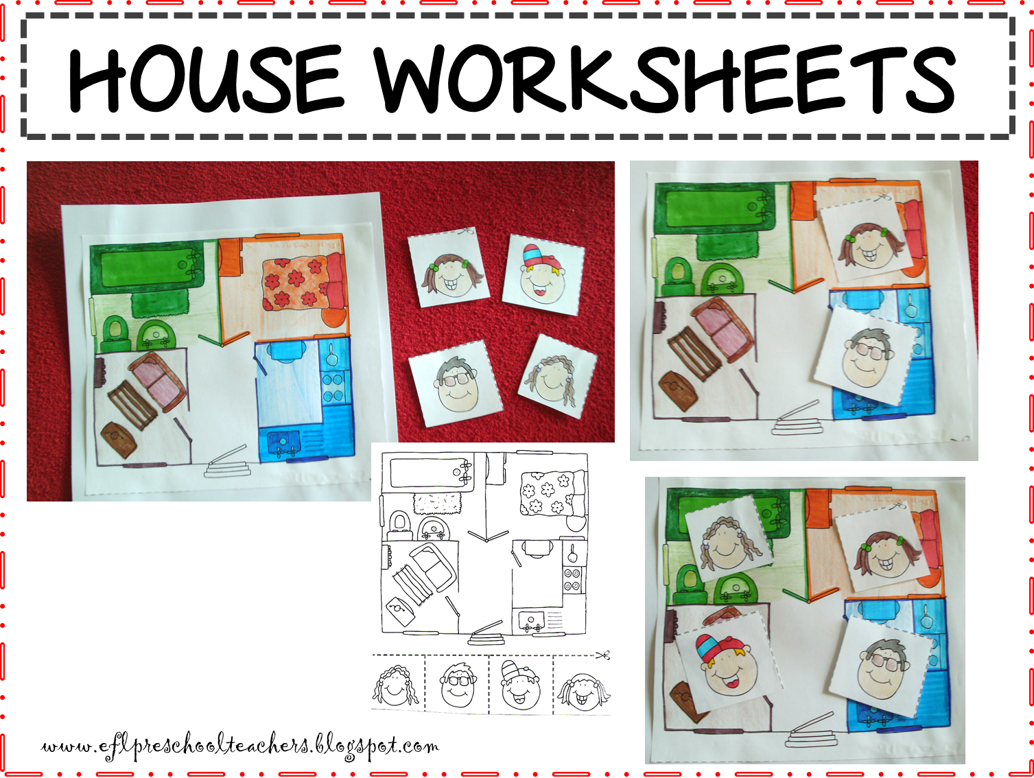 Esl Efl Preschool Teachers House Blog