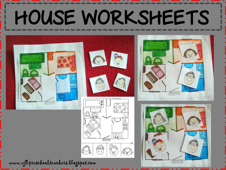 Esl Efl Preschool Teachers House Blog
