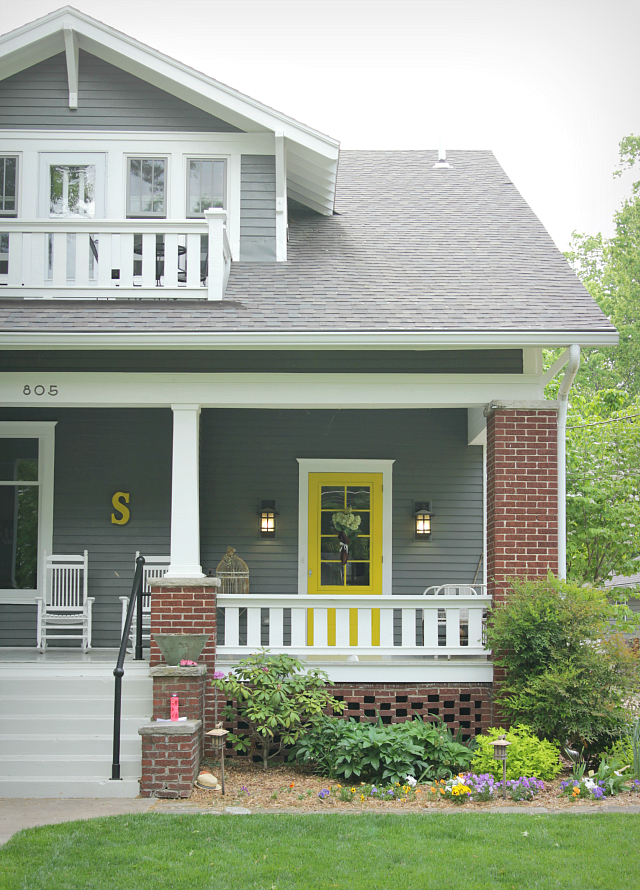 35 Colorful Porch Ideas For The Home Exterior House