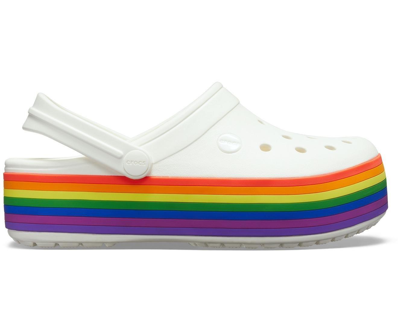 t h e rainbow platform crocs in 2020