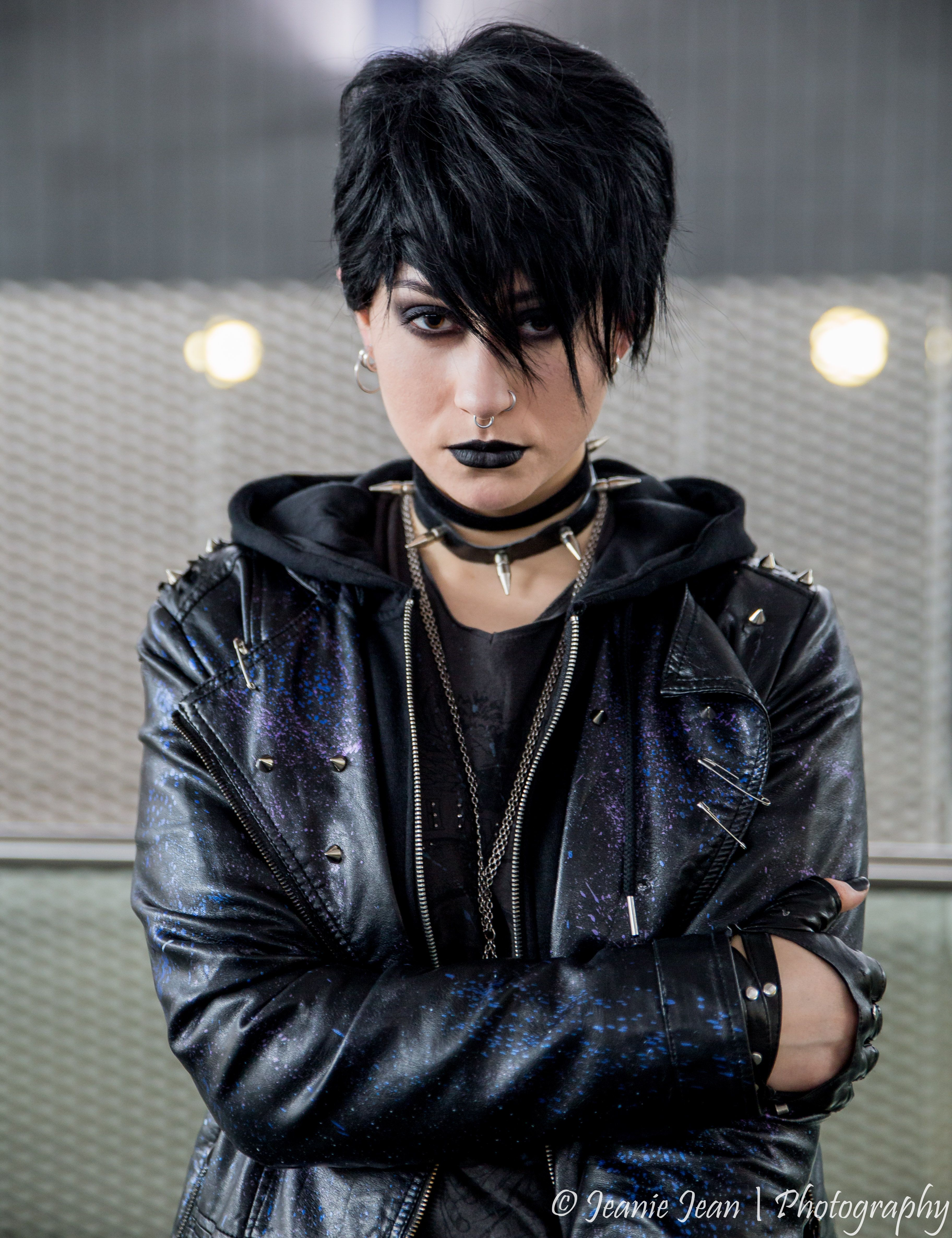 Noomi Repace cosplay version of Lisbeth Salander from the