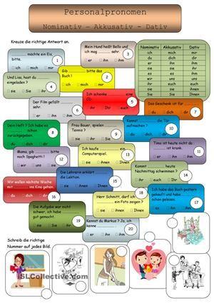Personalpronomen   Worksheets