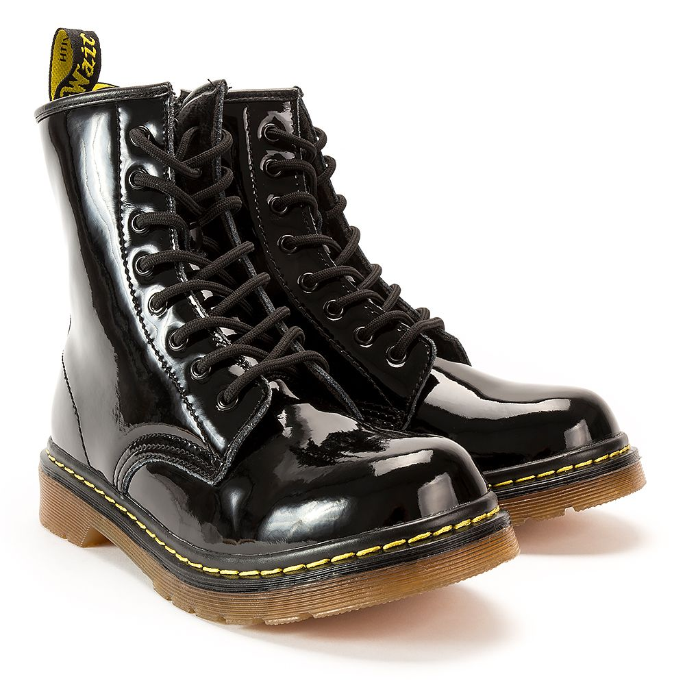 Glany Mckey Gl430 17 Bk Pat Czarne Lakierowane Glany Buty Damskie Filippo Pl Boots Combat Boots Shoes