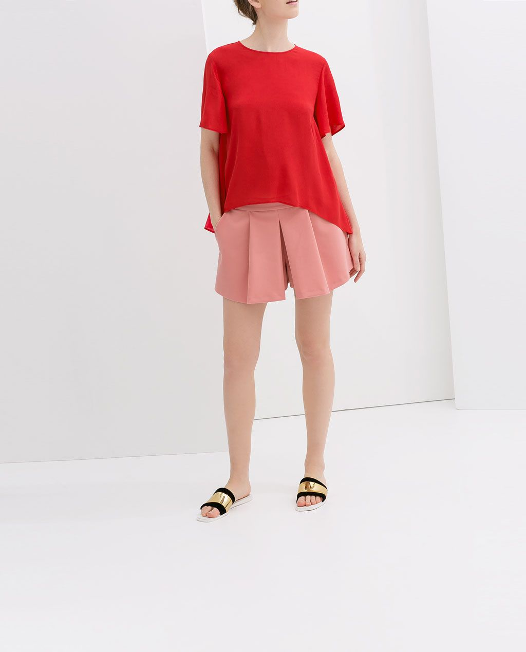 ZARA - NEW THIS WEEK - LOOSE FIT BLOUSE