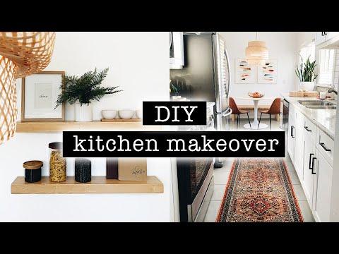 1 Diy Kitchen Makeover Organization Before After Transformation Xo Macenna Youtube Kitchen Diy Makeover Diy Kitchen Kitchen Makeover