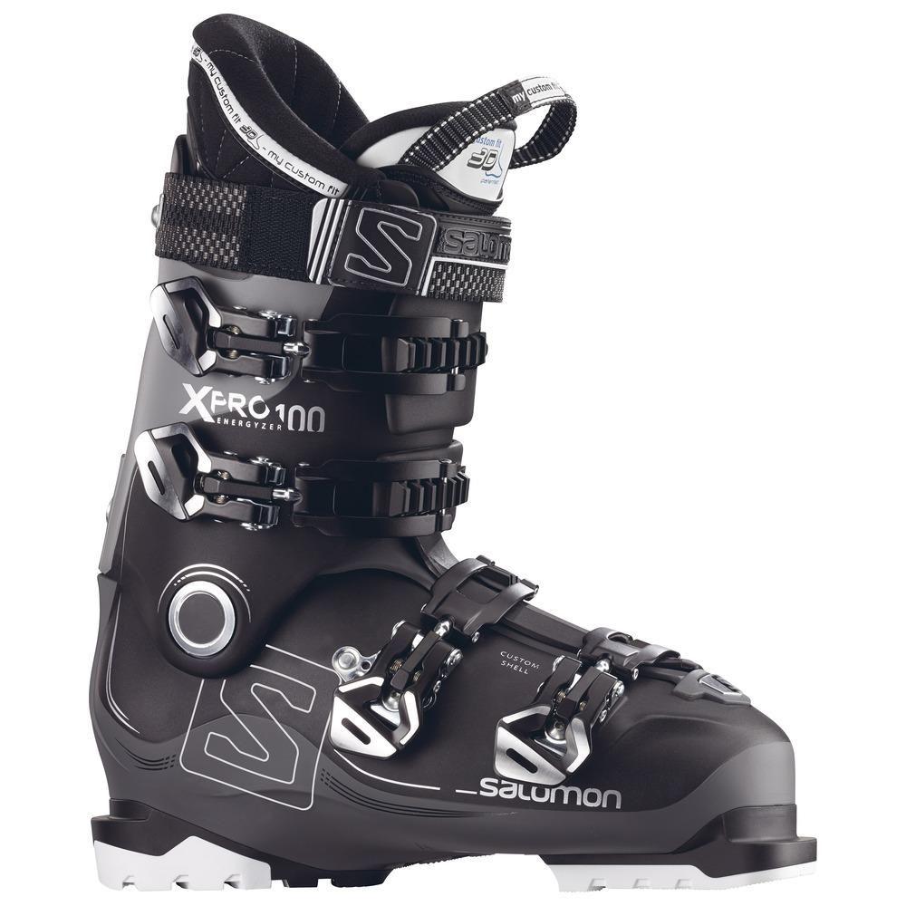 Salomon X Pro 100 Ski Boots 2018 Blk Safron