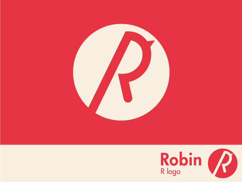 Robin Logo Mark R Logo Mark Robin Logo Logo Design