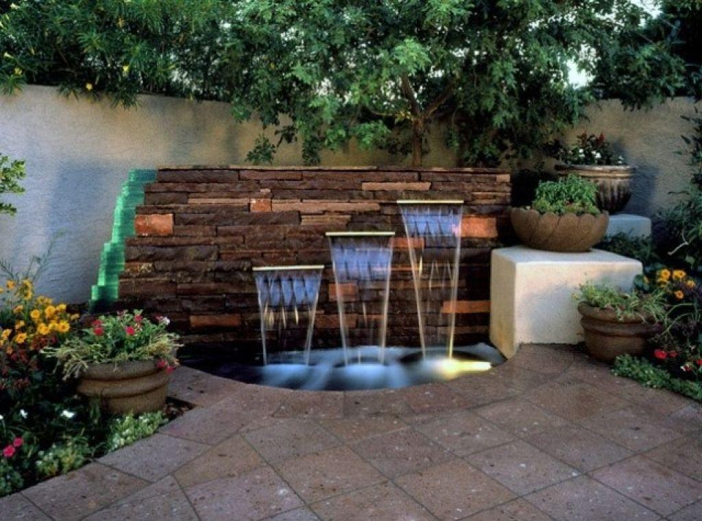 garten brunnen ideen fr frische und attraktive gartengestaltung - Gartengestaltung Mit Brunnen