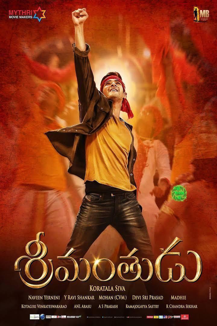 Srimanthudu 2015 Telugu Hdrip 700mb Fullmovies4all Com Telugu Movies To Watch Online Streaming Movies