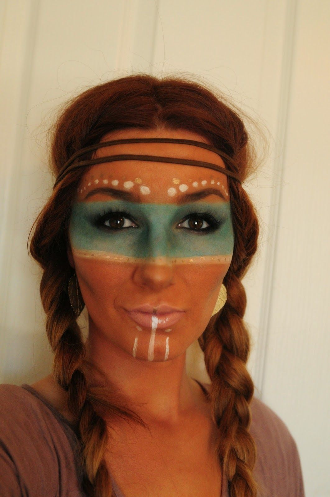 KL Artistry: Halloween: Native American Tribal makeup | Carnaval ...