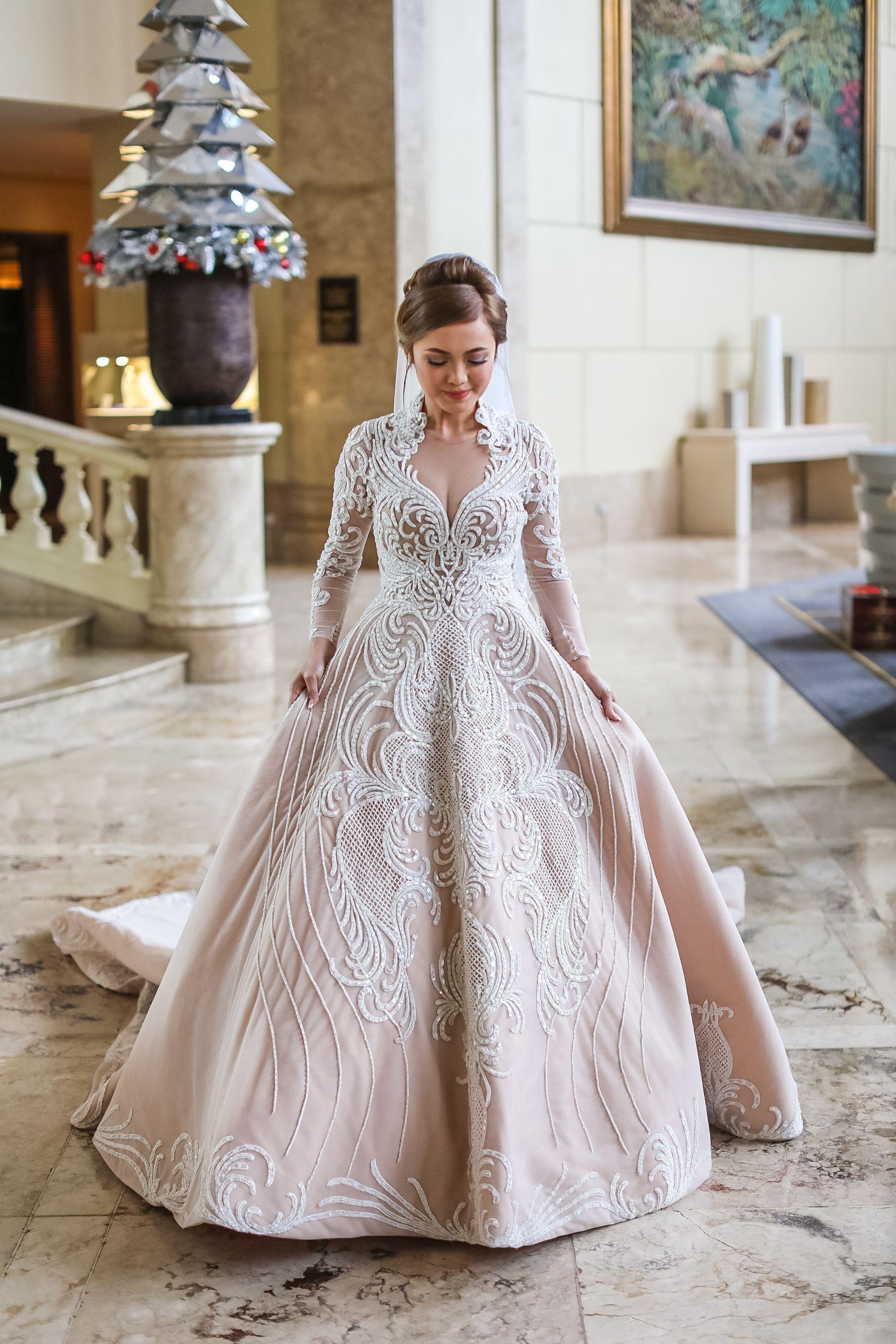 Francis Libiran Wedding Gown Plus Size Wedding Gowns Wedding Gowns Wedding Dresses