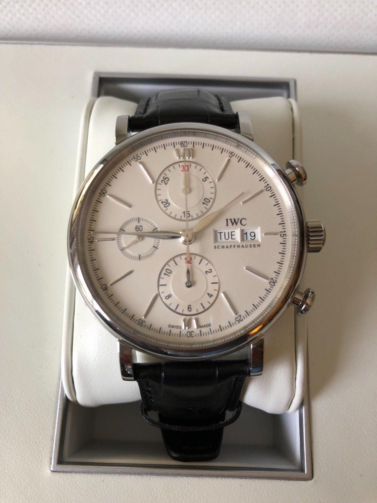 online store 247e2 60463 IWC Portofino Chronograph IW391007 Wrist Watch for Men | IWC ...