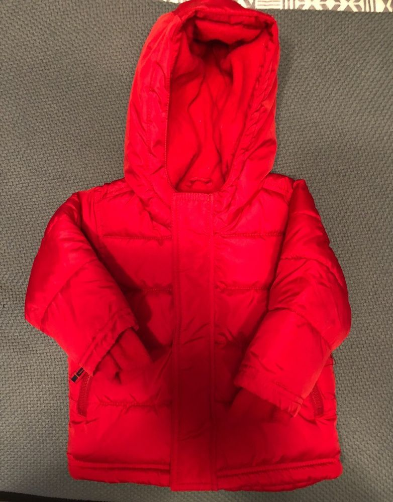 1427ccd217d2 Boys Old Navy Frost Free Jacket Size 12-18 Months Red In Color New W ...
