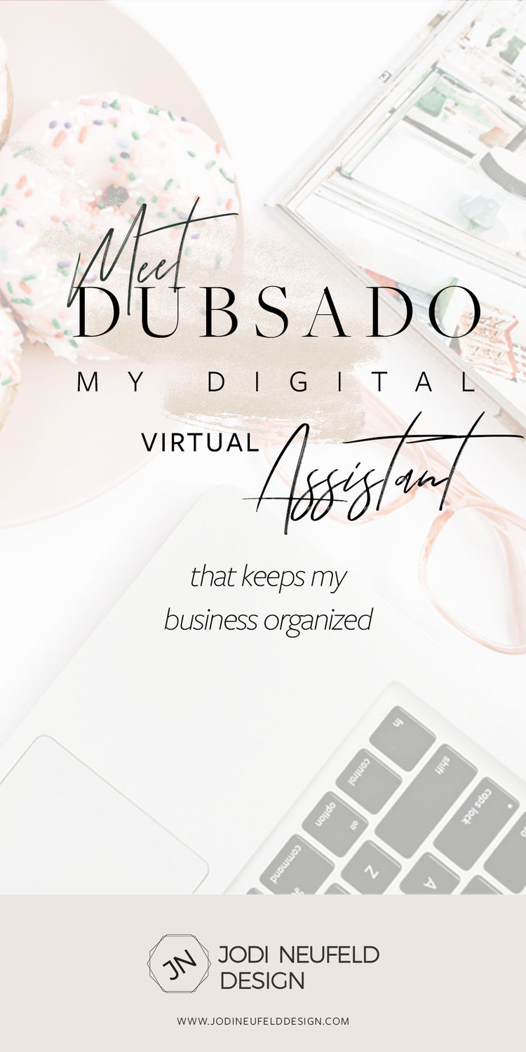 Custom My Design Assistant meet dubsado - my digital virtual assistant | web design