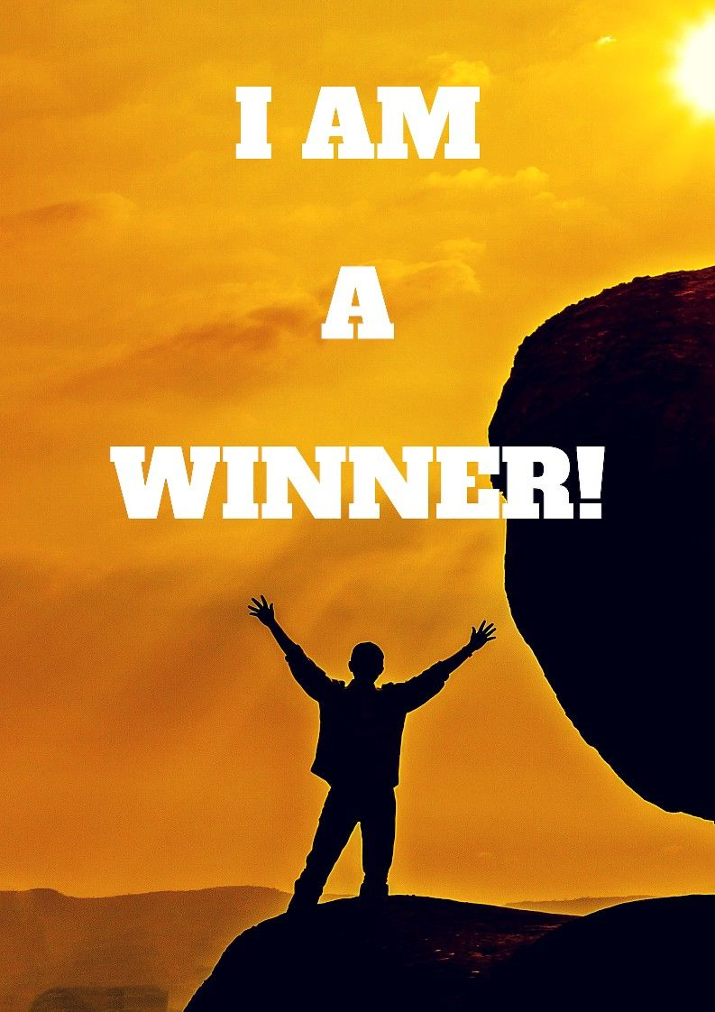 I Am Worthy And Thankful Now That I Am A Winner Wealth Affirmations Success Affirmations Love Affirmations
