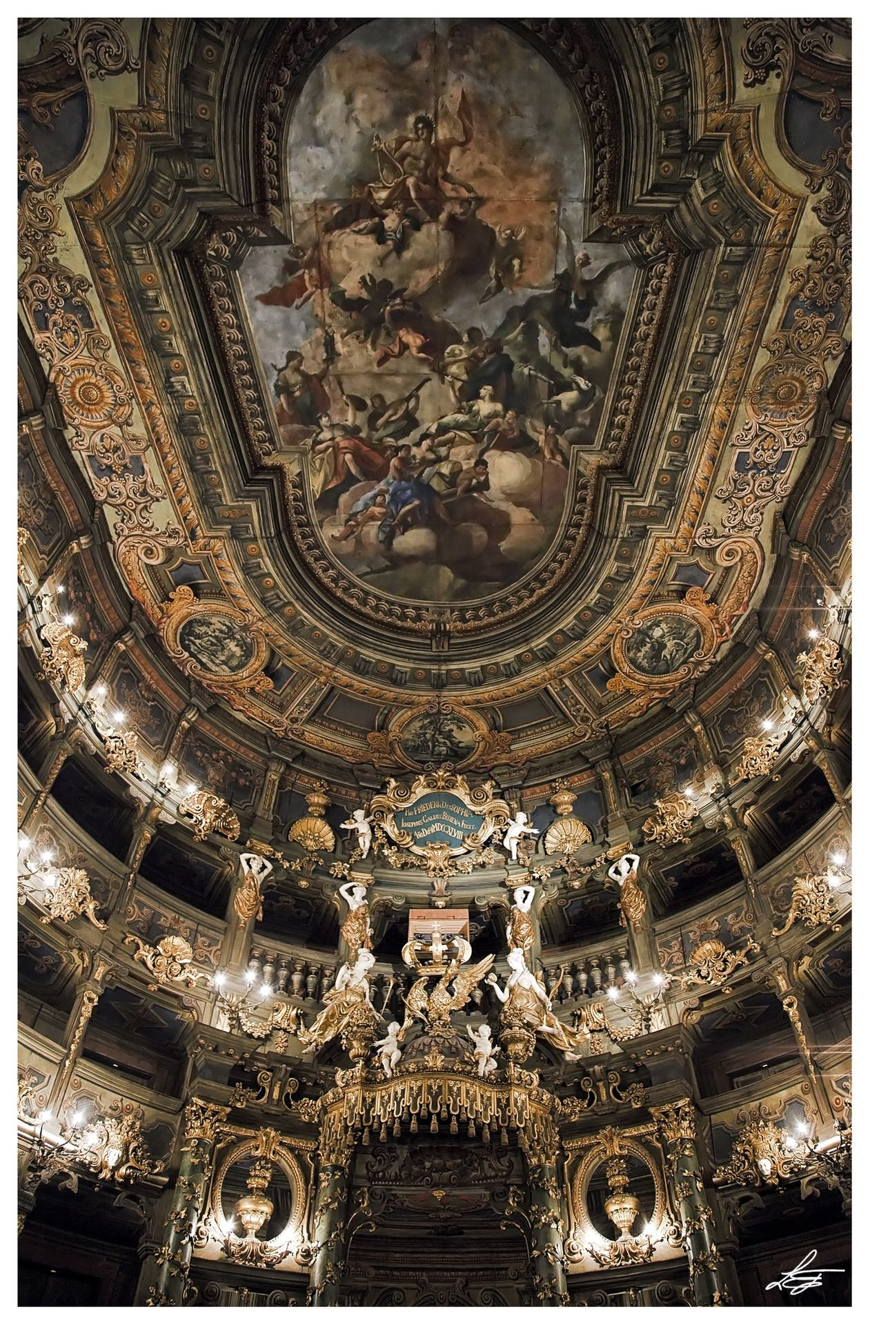 Margravial Opera House Bayreuth Germany Photo By Emanuele Leoni Baroque Architecture Bayreuth Opera House
