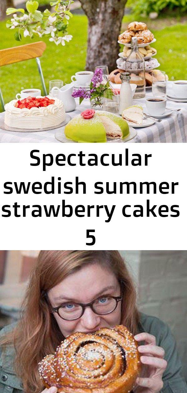 Spectacular swedish summer strawberry cakes 5 #breakfastslidershawaiianrolls