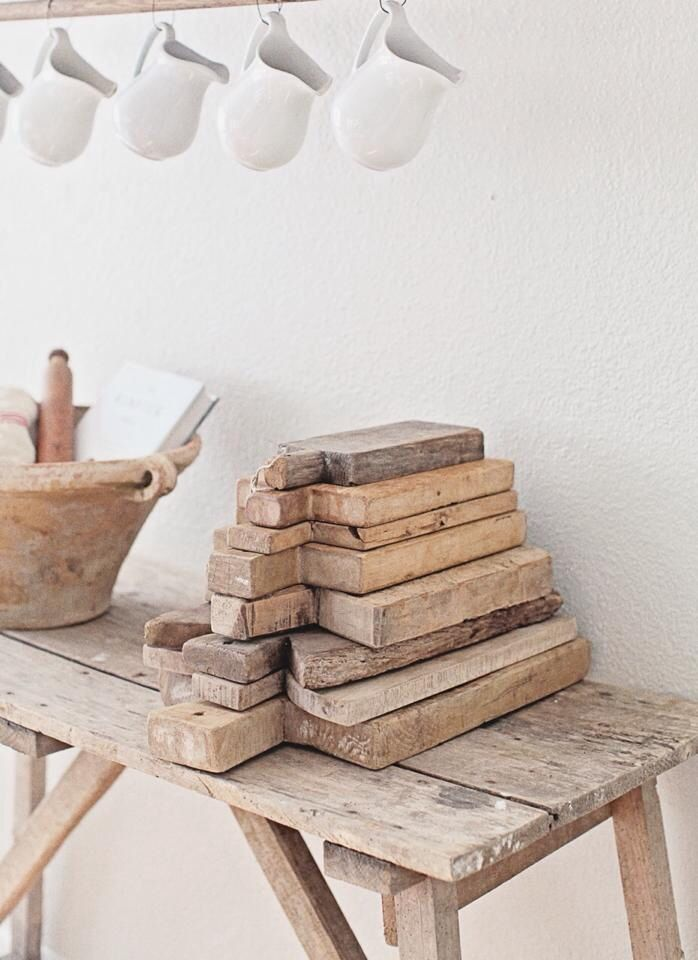 French vintage wood cutting board with a rustic style  French kitchen  Vintage bread board  Old chopping block French breadboard