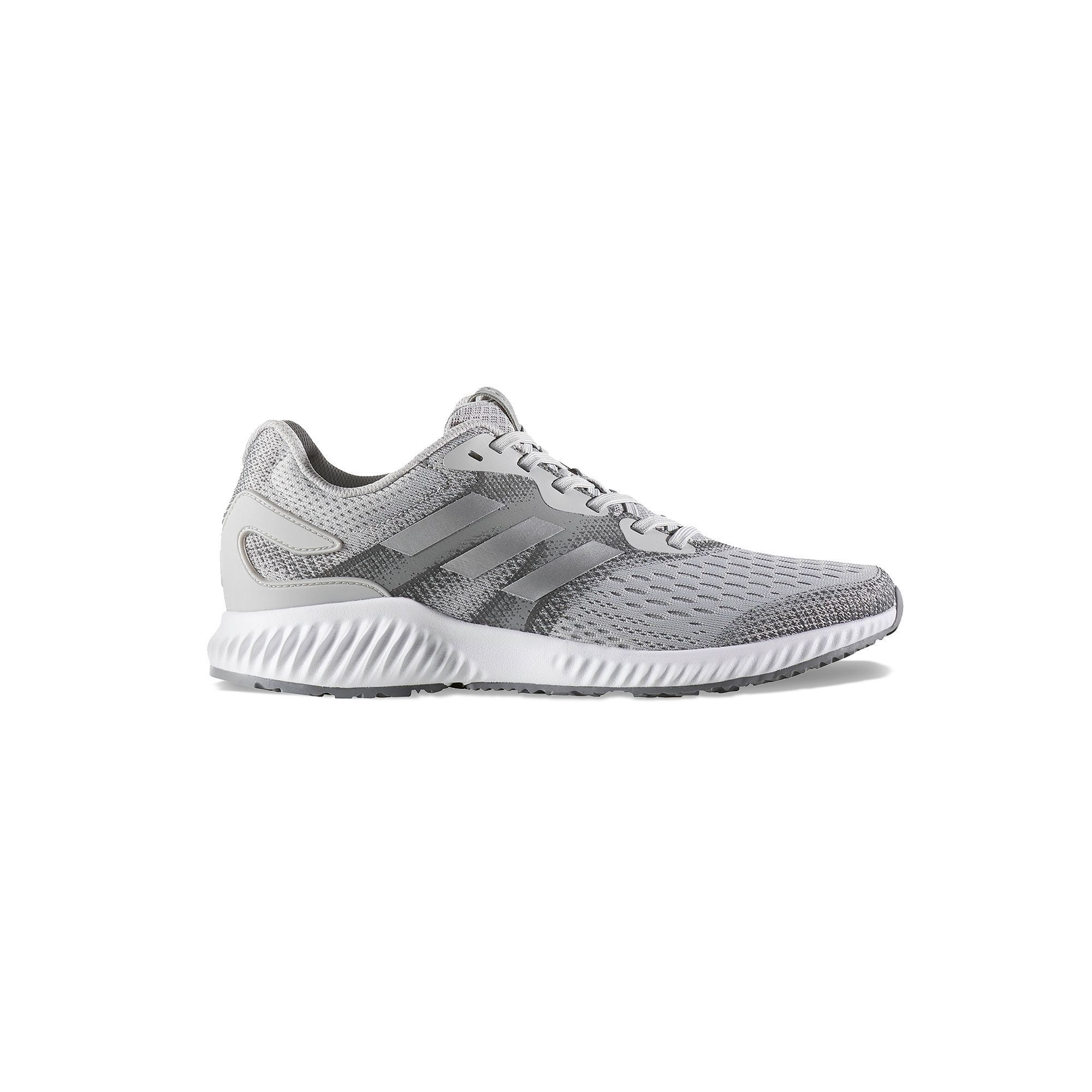 new arrivals a416e e4f00 Adidas Aerobounce Mens Running Shoes, Size 11.5, Med Grey